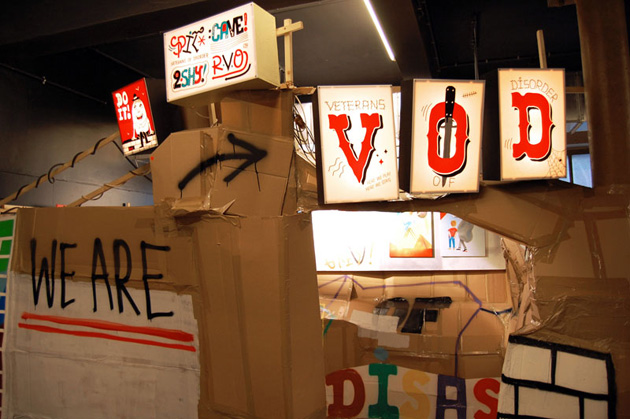 Veterans Of Disorder Festival of Liège Exhibition