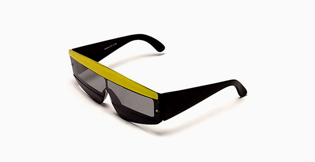 Vintage Eyewear Tri Block Sunglasses