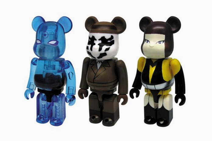 Watchmen x Medicom Toy Bearbrick 3-Pack