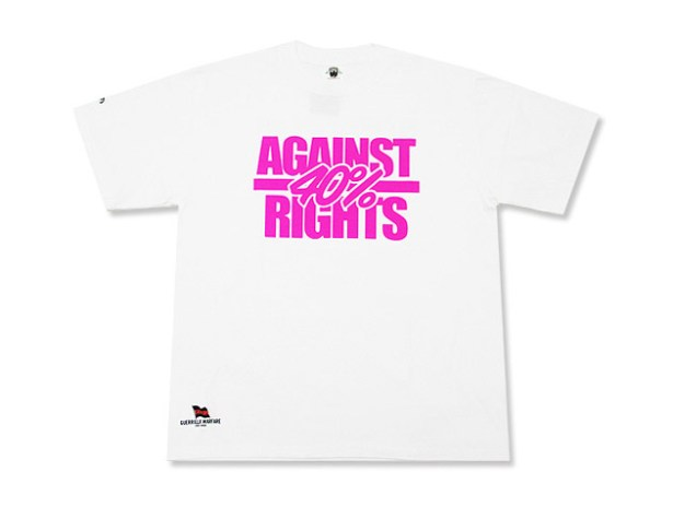 WTAPS 40% Against Rights Collection