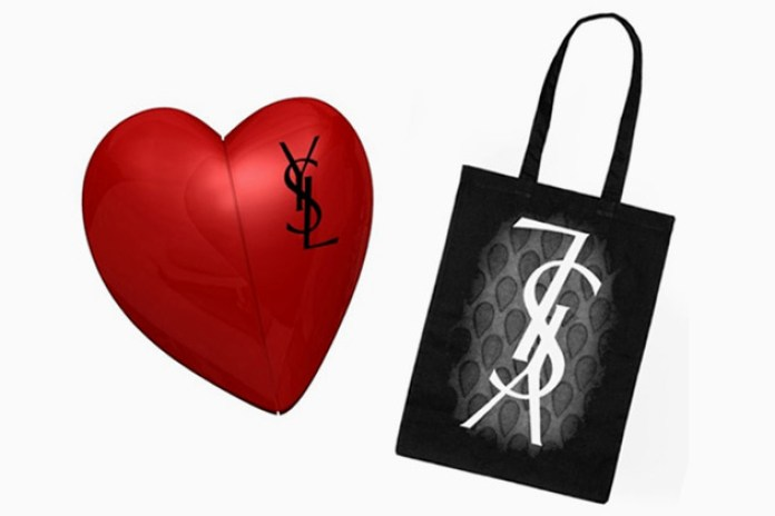 Yves Saint Laurent USB Heart & Tote Bag Giveaway