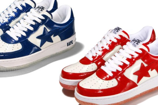 A Bathing Ape Bapesta New Colorways