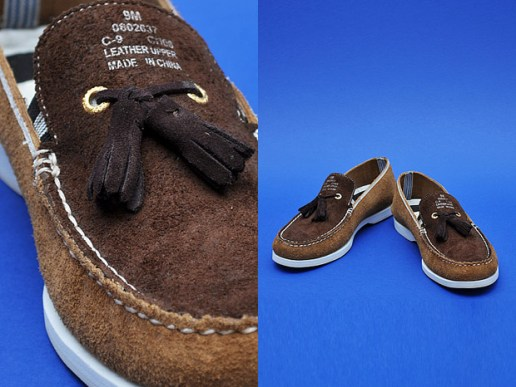 Band of Outsiders x Sperry Deconstructed Boat Shoes