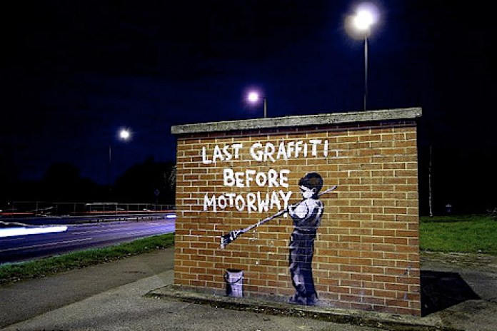 New Banksy Pieces in London