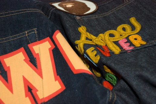 Bape 2009 Spring/Summer Magazine Exclusive Denim