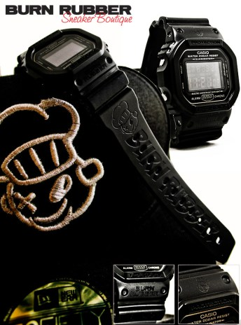 Burn Rubber x Casio G-Shock DW-5600