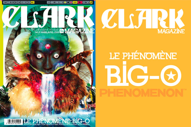 Clark Magazine Issue No. 35 featuring Big-O