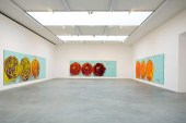 """Cy Twombly """"The Roses"""" Exhibition"""
