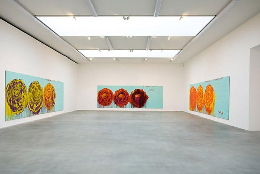 "Cy Twombly ""The Roses"" Exhibition"