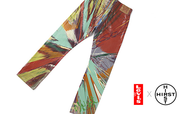 """Damien Hirst x Levi's """"The Spin Jeans"""""""