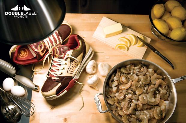 DC x Sneaker Bistro Sneakers