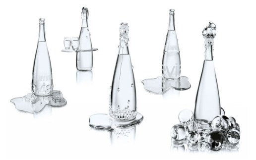 Baccarat x Jean-Paul Gaultier Haute Couture Evian Collection