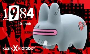 """Frank Kozik x Kidrobot """"1984"""" Labbit"""