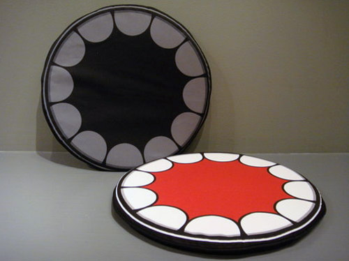 Gallery 1950 x OriginalFake Chompers Seat Cushion