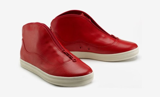 Gourmet Due Epi Leather Sneakers