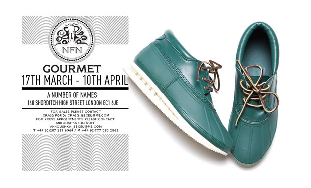 "Gourmet ""A Number of Names"" Sneaker Showcase"