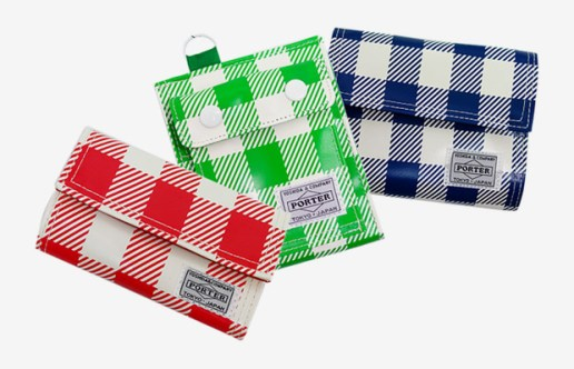 Head Porter 2009 Spring/Summer Block Check Collection