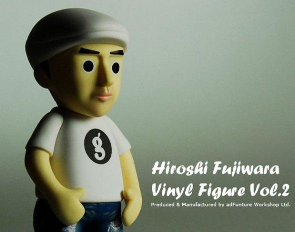 Hiroshi Fujiwara x adFunture Vinyl Figure Version 2