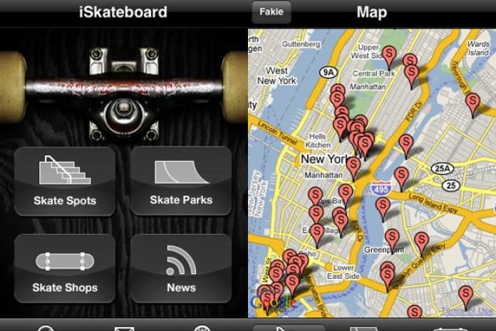 iSkateboard iPhone App