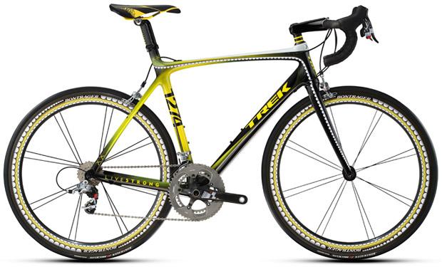 Lance Armstrong's KAWS TREK Madone Bike