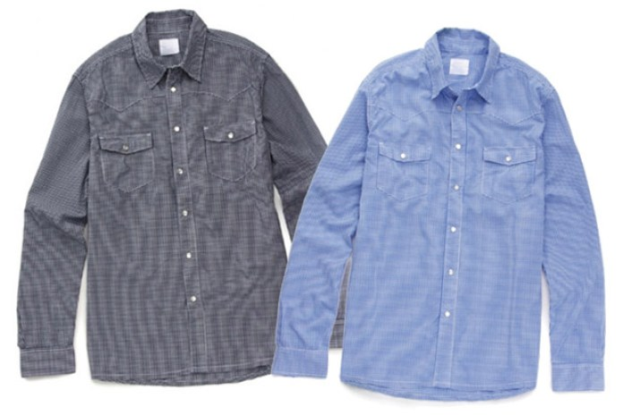 Levi's Fenom Gingham Western Shirts