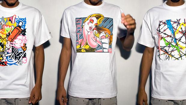 Mick Haggerty x Freshjive T-shirt Collection