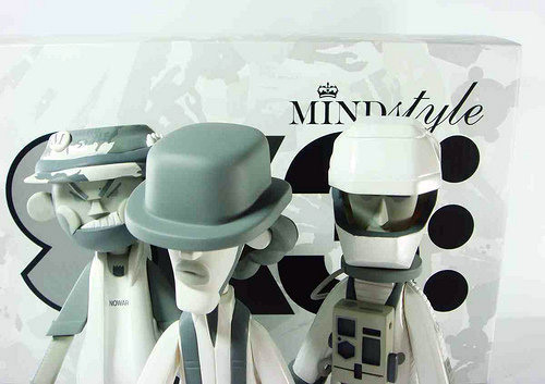 MINDstyle x Michael Lau SK3 White/Grey version