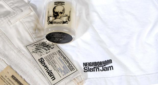 """Slam Jam x Neighborhood """"Bianco Bianco"""" Collection"""