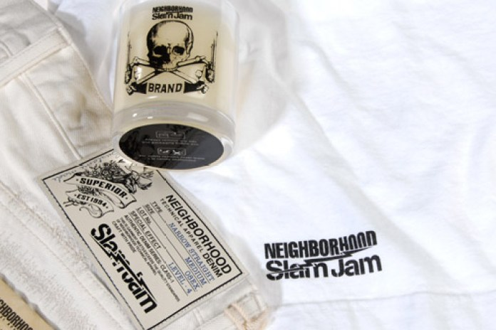 "Slam Jam x Neighborhood ""Bianco Bianco"" Collection"