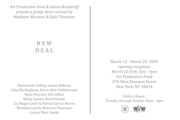 New Deal Art Exhibition NYC