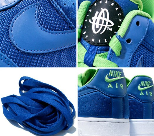 "Nike Air Force 1 ""Huarache"" Hybrid - A Closer Look"