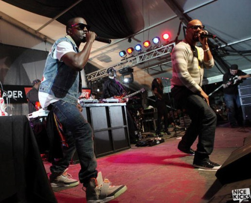 Nike Air Yeezy makes an apperance at SXSW Music Festival