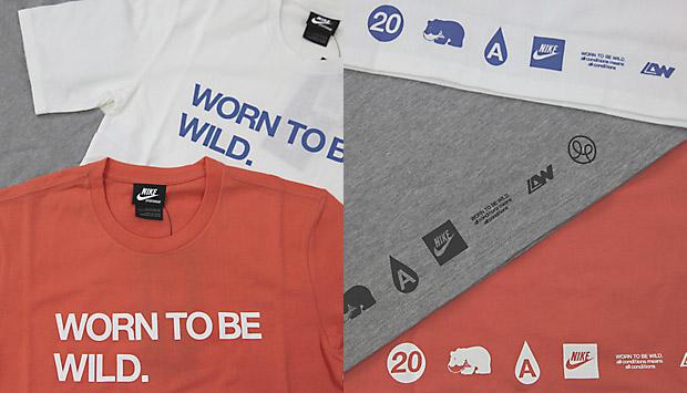 "Nike x Loopwheeler ""Worn to be Wild"" T-shirt"