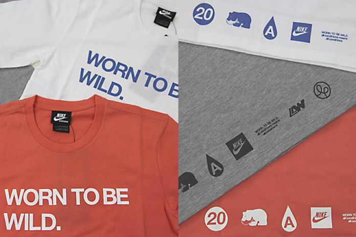 "Nike x Loopwheeler ""Worn to be Wild"" T-shirt"