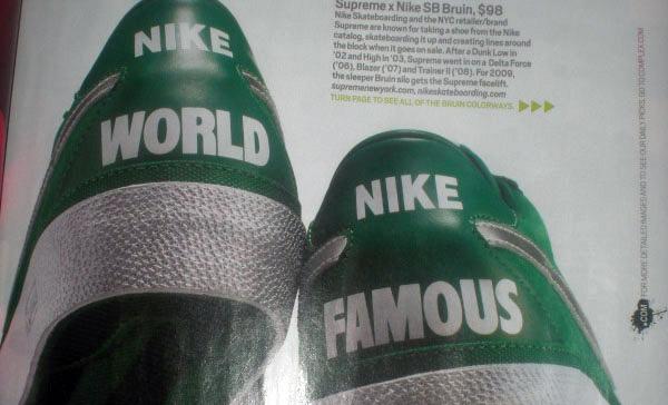 Supreme x Nike SB Bruin