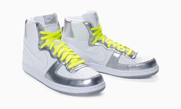 Nike Sportswear Terminator High Silver/Neon