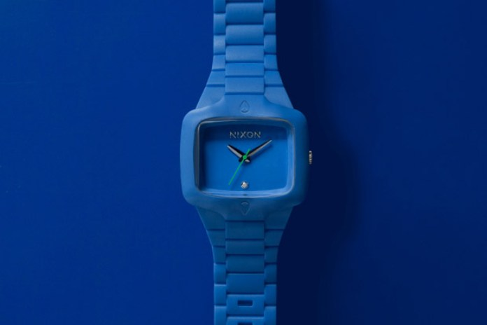 Nixon Blue Rubber Player