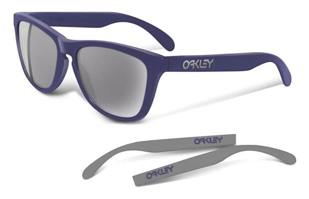 Oakley Four-Legged Frogskin Matte Denim | Turquiose Sunglasses