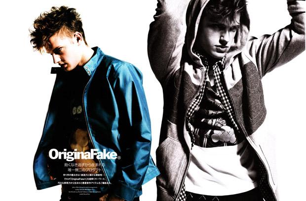 OriginalFake 2009 Spring/Summer Photoshoot in Warp Magazine