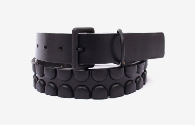 OriginalFake Metal X and Chomper Leather Belts