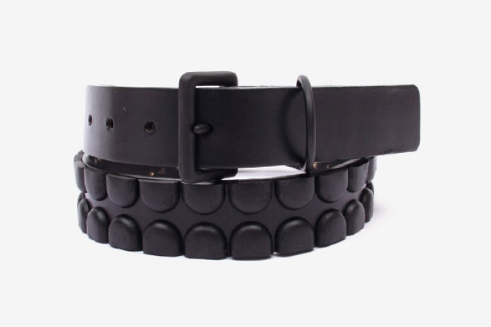 OriginalFake Metal X and Chomper Leather Belts