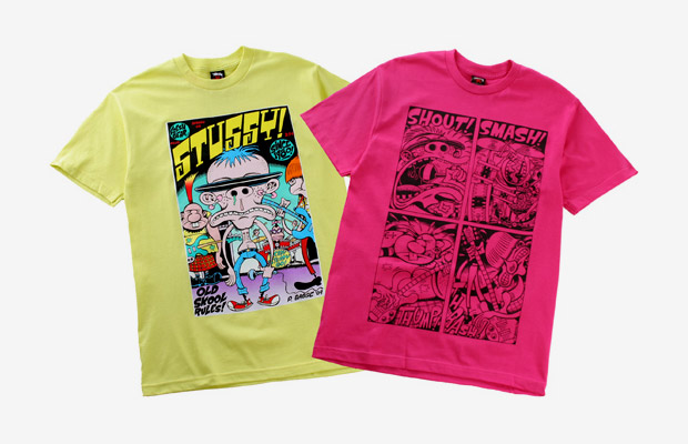 Peter Bagge for Stussy Video