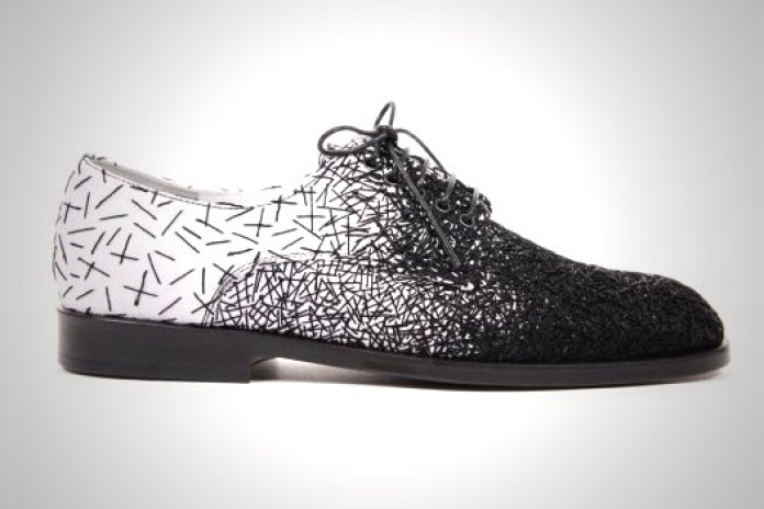 Raf Simons Embroidered Shoes