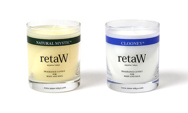 retaW Clooney & Natural Mystic Candles