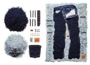 Sagmeister x Levi's 501 Art Installation for American Rag