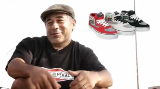 Steve Cabarello on the Vans Half Cab
