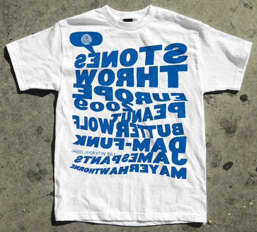 Stones Throw Records x Carhartt London Tour T-Shirt