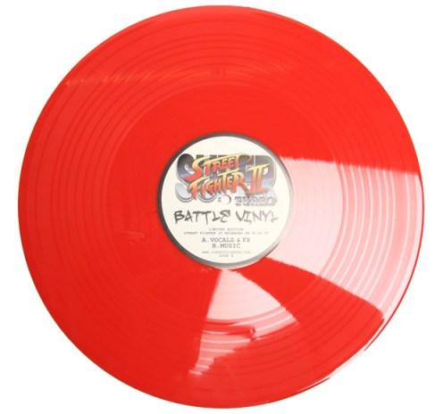 Street Fighter II Turbo Battle Vinyl