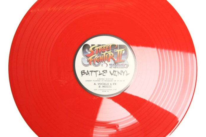 Street Fighter II Turbo Battle Vinyl