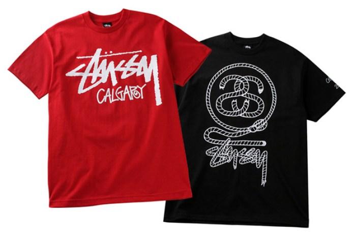 Stussy Calgary Grand Opening T-shirts